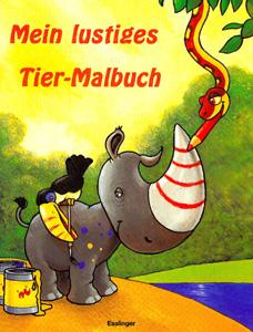 Mein lustiges Tier-Malbuch...