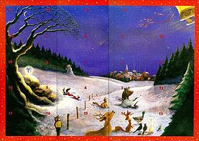 Mit Babs und Andi durch den Advent, Adventskalender