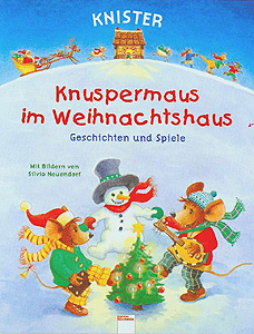 Knuspermaus im Weihnachtshaus...