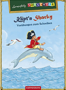 Käpt'n Sharky - Vorübungen zum Schreiben...