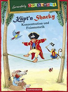 Käpt'n Sharky - Konzentration und Feinmotorik...
