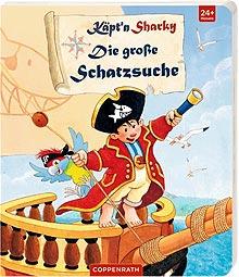 Käpt'n Sharky - Bilderbuch Schatzsuche 2017