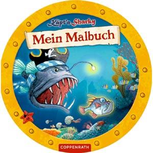 Käpt'n Sharky - Mein Malbuch 2017